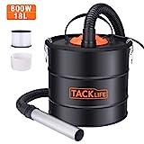TACKLIFE Aschesauger, 800W 18L...