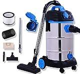 Masko® Industriestaubsauger - blau,...