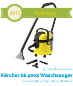 Waschsauger Testsieger 2019